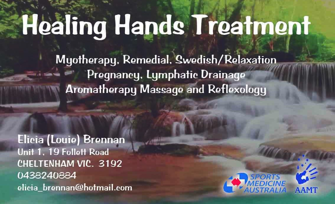 Healing hand treatment-ebmyotherapy