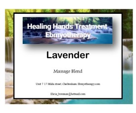 labels - Lavender