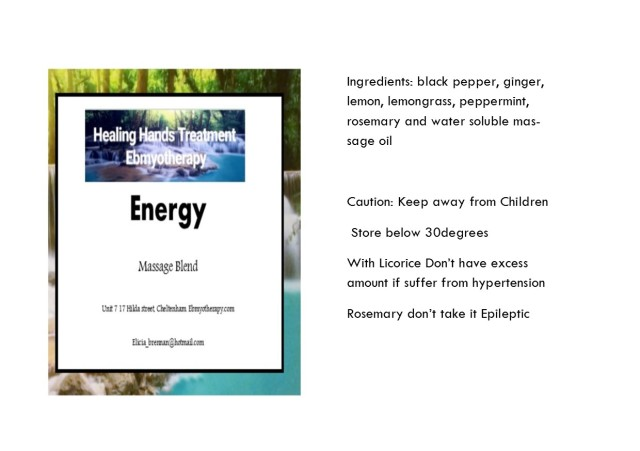 oil info card energy